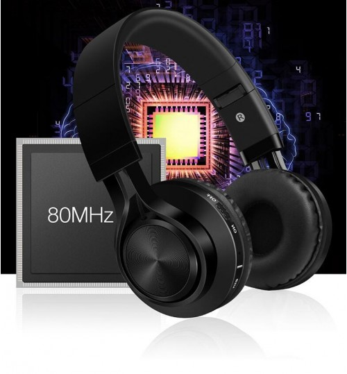 Bluetooth Stereo Headphones deep bass with Microphone for Samsung Iphone
