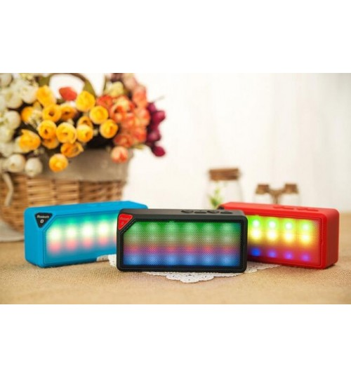 Mini Bluetooth Speaker Portable Wireless Handsfree for Smartphone Tablet PC