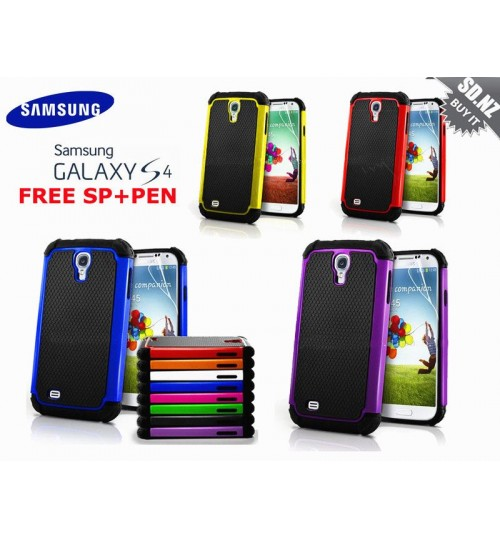 Galaxy s4 Mini three-piece heavy duty case+Combo