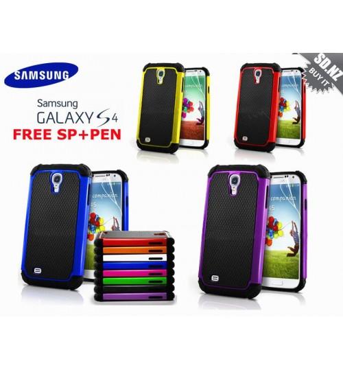 Galaxy s4 Mini three-piece heavy duty case+Combo