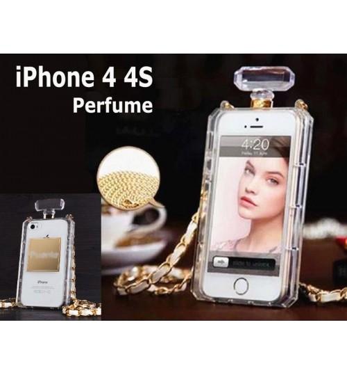 IPhone 4 4S perfume bottle chain handbag Case