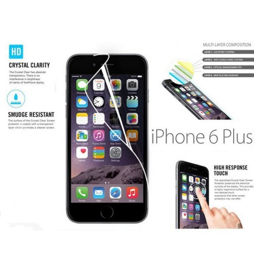 Iphone 6 Plus (5.5inch) HD front screen protectors