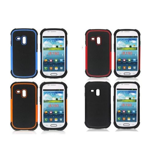 Galaxy s3 Mini three-piece heavy duty case+Pen