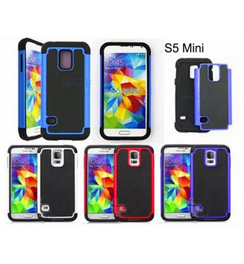Galaxy s5 mini three-piece impact proof case+pen