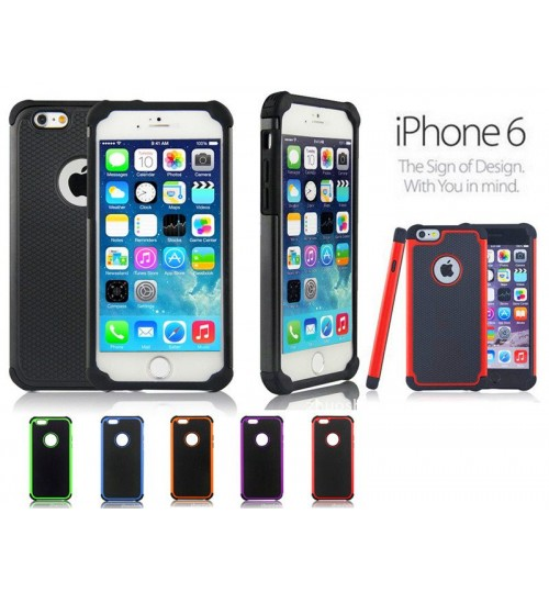 iPhone 6  three-piece impact proof case+pen