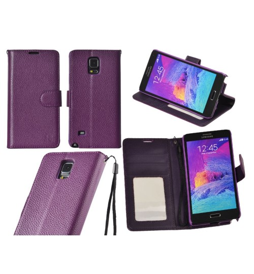 Galaxy Note 4 wallet leather case ID card