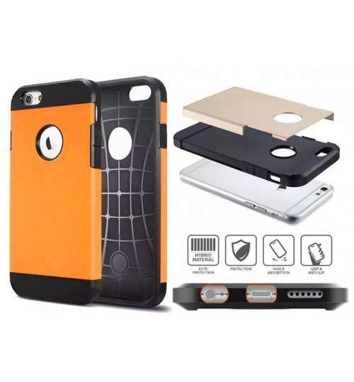 iPhone 6 dual tone dual layer heavy duty slim case
