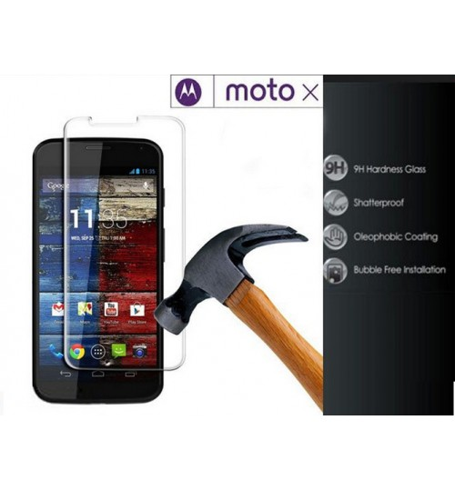 Moto X Tempered Glass Screen Protector Film