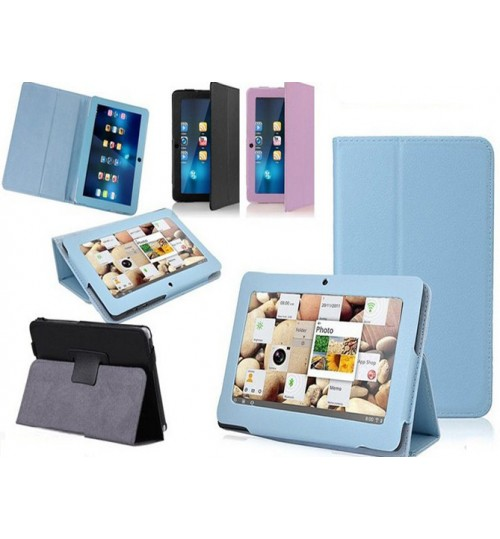 9.7 inch universal tablet flip leather case+Combo