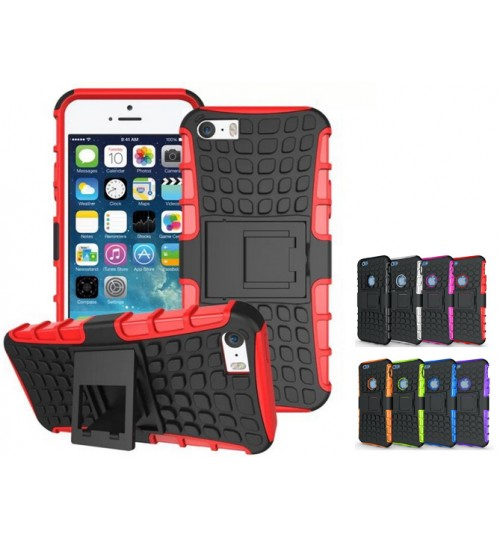 iPhone 6 plus Case Heavy Duty Kickstand  combo