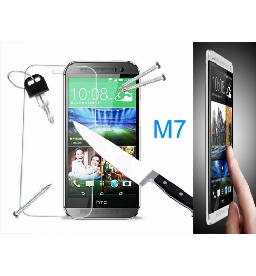 HTC one M7 Tempered Glass Protector Film
