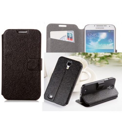 Samsung Galaxy S4 case luxury wallet brushed case