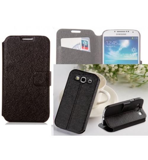 Samsung Galaxy S3 case luxury wallet brushed case