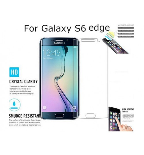Samsung Galaxy S6 edge screen protectors clear