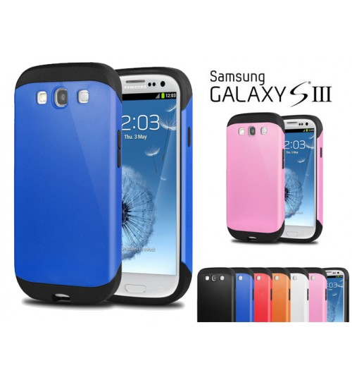 Galaxy S3 Slim Anti-shock hard case+Combo
