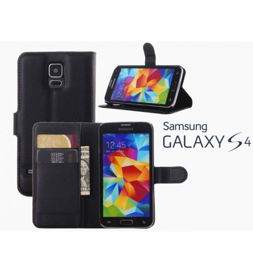 Samsung galaxy s4 wallet leather case +combo