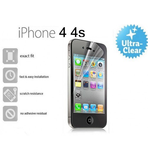 Iphone 4 4s screen protector clear