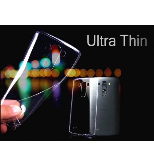 LG G3 Case Clear Gel Ultra Thin soft tpu case