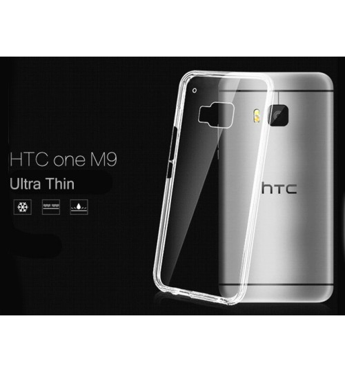 HTC one M9 Case Clear Gel Ultra Thin +Combo