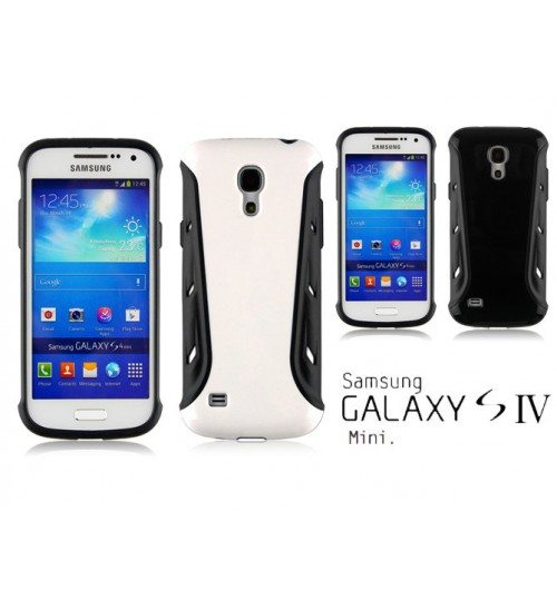 Galaxy S4 Mini Slim Heavy Duty Defender case