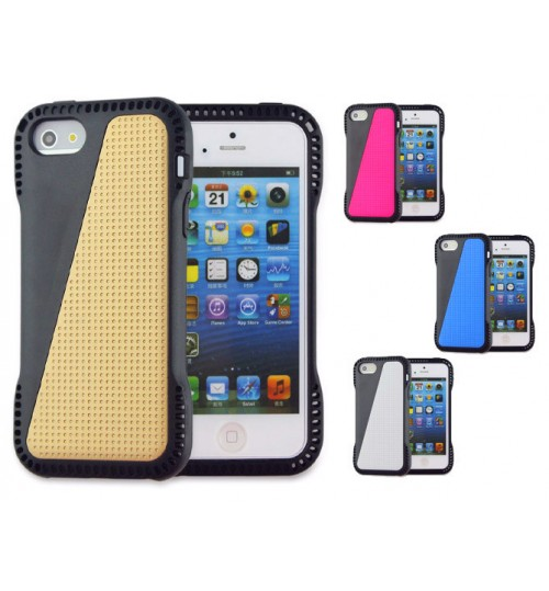 iPhone 5 5s case impact proof hybird case cover