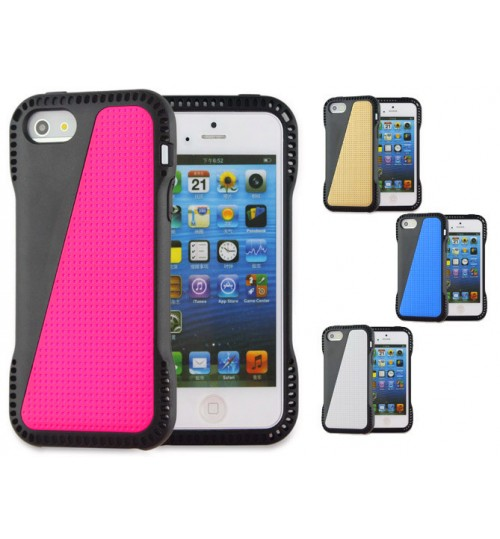 iPhone 4 4s case impact proof hybird case cover