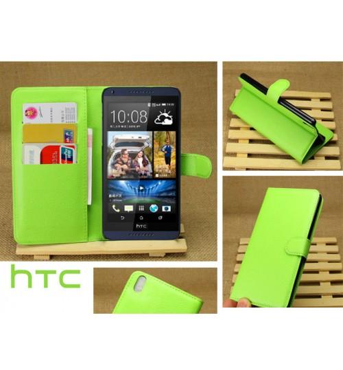 HTC Desire 816 case Wallet leather cover case