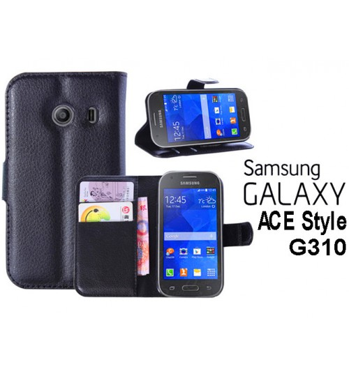 Samsung Galaxy Ace Style case wallet leather case