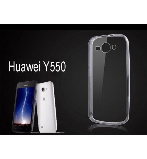 Huawei Y550 case clear gel Ultra Thin