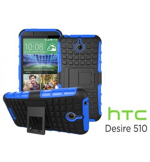 HTC Desire 510 Case Heavy Duty Hybrid Kickstand