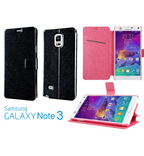 Samsung Galaxy Note 3 luxury flip leather case