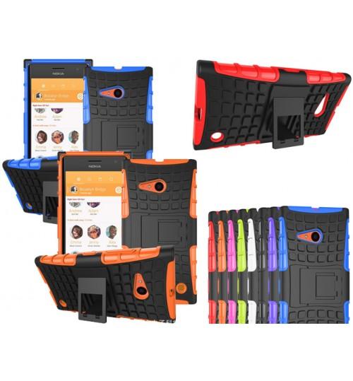 Microsoft Lumia 735 Case Heavy Duty Kickstand case