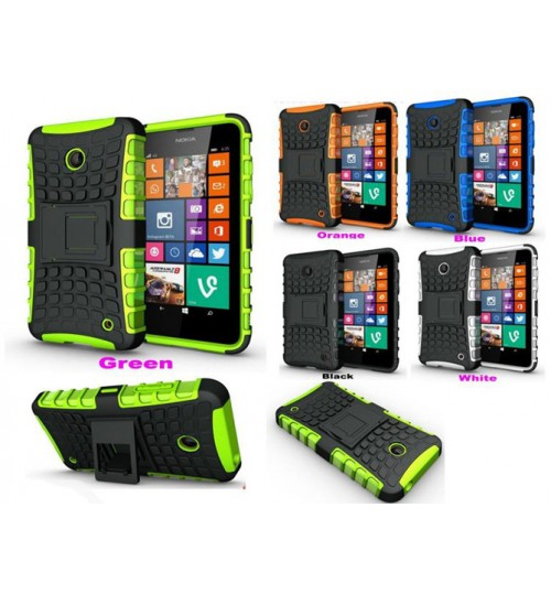 Microsoft Lumia 630 Case Heavy Duty Kickstand case