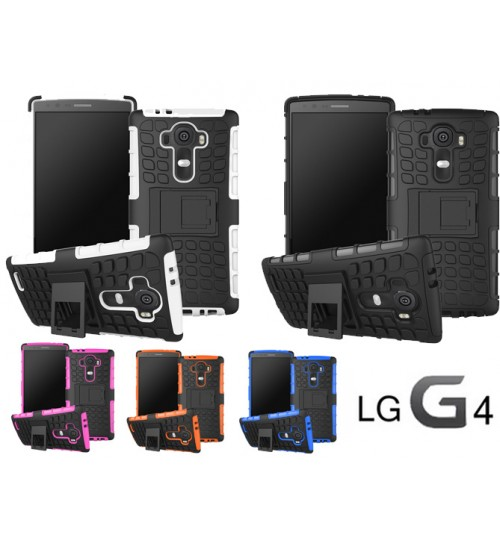 LG G4 Case Heavy Duty Hybrid Kickstand case