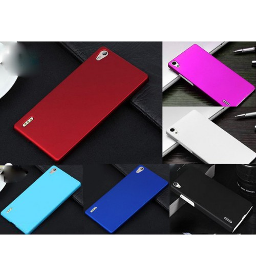 Huawei ascend P7 rubberized hard case sp+pen