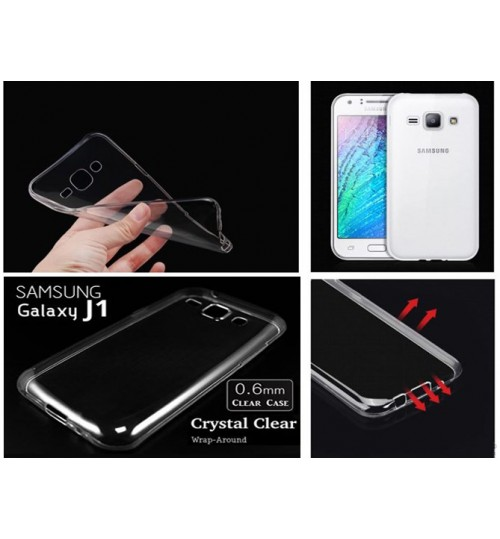 Samsung Galaxy J1 Soft Gel Case Ultra Thin  Clear