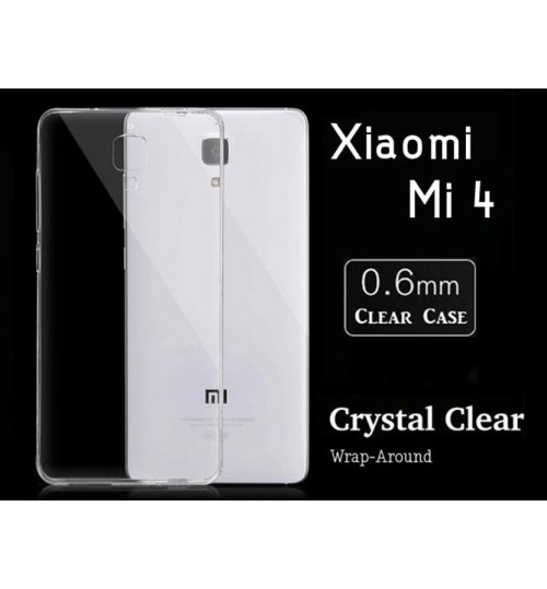 Xiaomi Mi 4 Case case Soft Gel Ultra Thin Clear