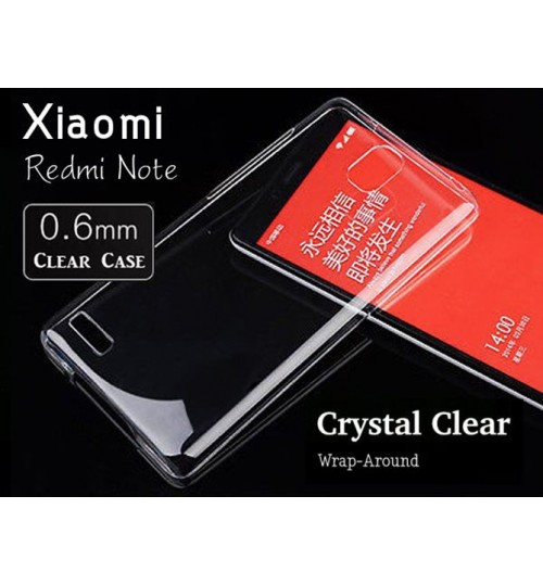 Xiaomi Redmi Note Case case Soft Gel  TPU Clear