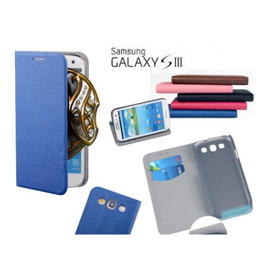 Galaxy S3 case wooden  wallet  slim case