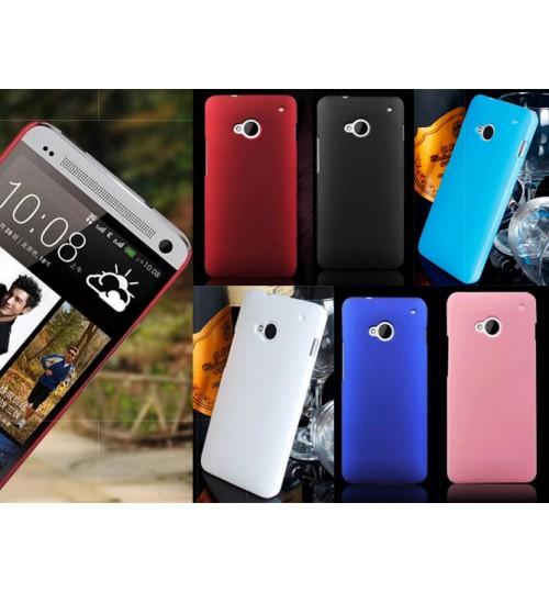 HTC ONE M7 Slim hard case matte finish  cover