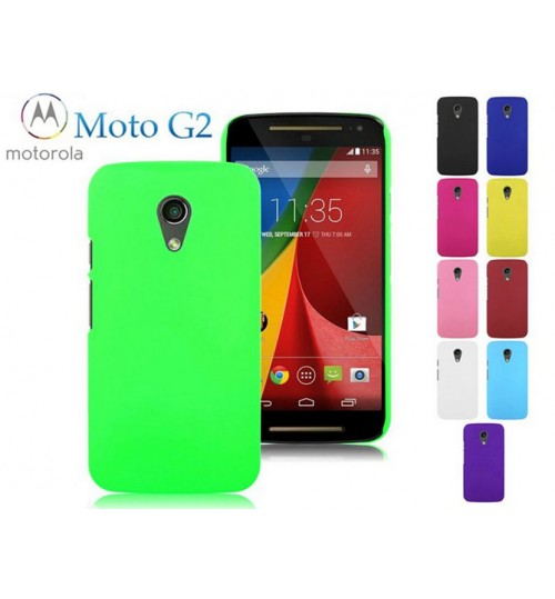 Moto G2 Slim hard case matte finish cover