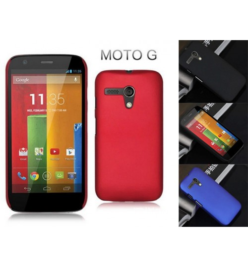 Moto G  Slim hard case matte finish cover