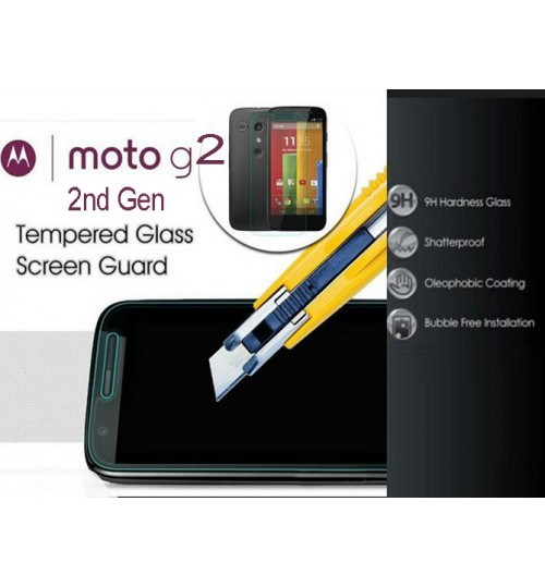 Moto G2 Tempered Glass Screen Protector Film