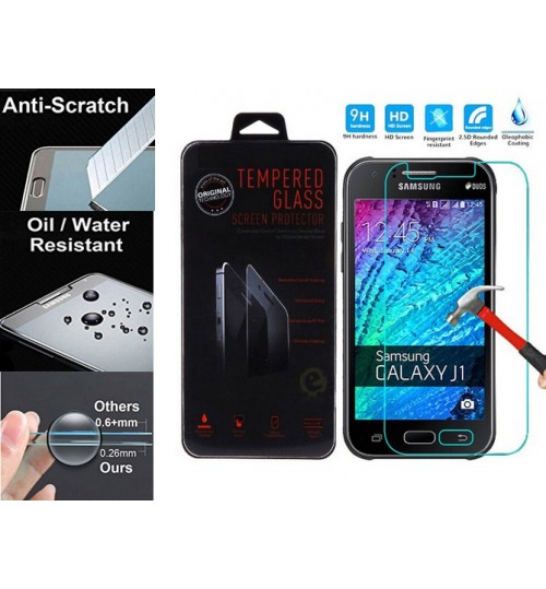 Galaxy J1 tempered Glass Screen Protector