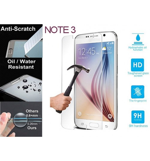 Galaxy NOTE 3 tempered Glass Protector Film Samsun