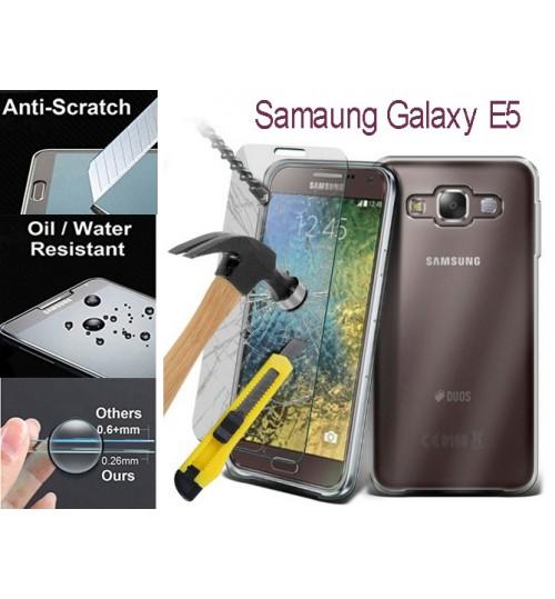 Galaxy E5  tempered Glass Protector Film Samsung