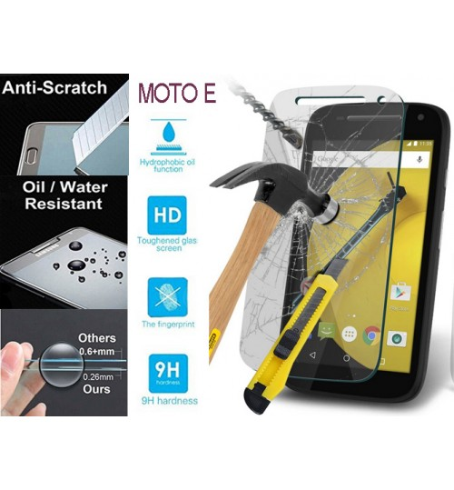 Moto E Tempered Glass Screen Protector Film