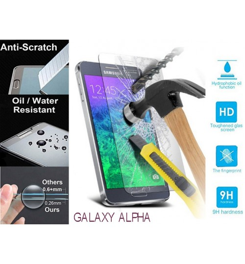 Galaxy Alpha G850 tempered Glass Protector Film