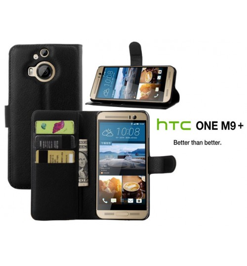 HTC M9 Plus Wallet leather case+Pen