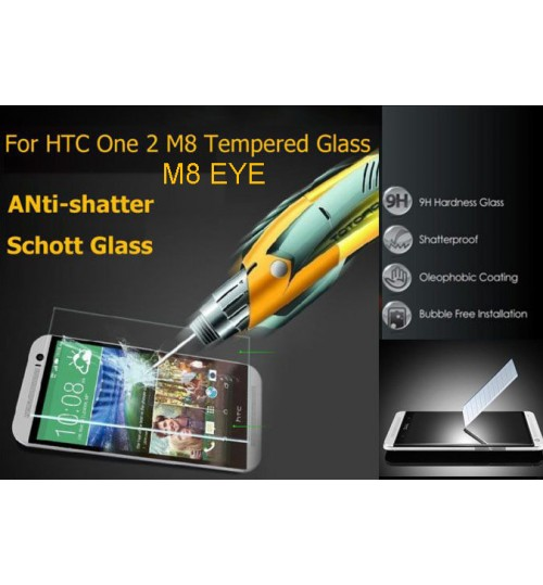 HTC One M8 EYE tempered Glass Protector Film